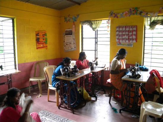 Atelier couture de la Communauté des Soeurs Dominicaines de Bangalore